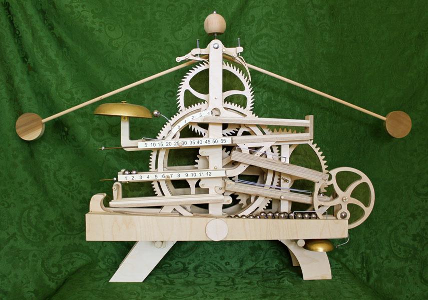 Wooden Gear Clock Plans By Clayton Boyer