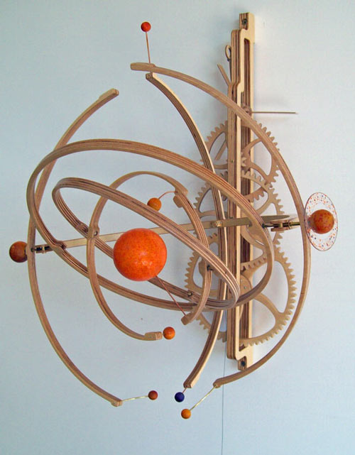 """... """" sculptures built from my plans, click here : Planets Flickr Pool"""