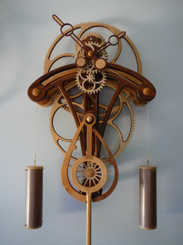 clayton boyer wooden clock plans