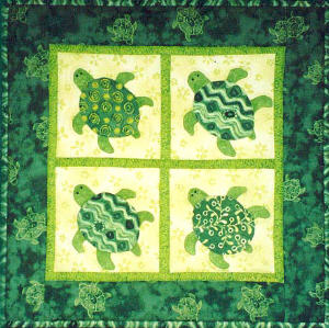Baby Honu Turtle Quilt Pattern Sewing Patterns For Baby