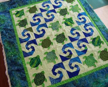 Baby Honu Quilt Pattern By Lisa Boyer