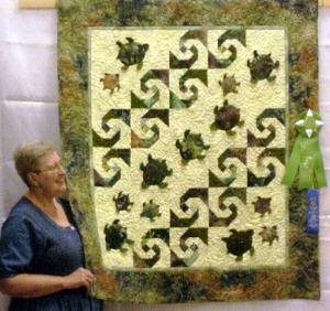 Baby Honu Quilt Pattern by Lisa Boyer : sea turtle quilt pattern - Adamdwight.com